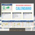 calendario de obligaciones