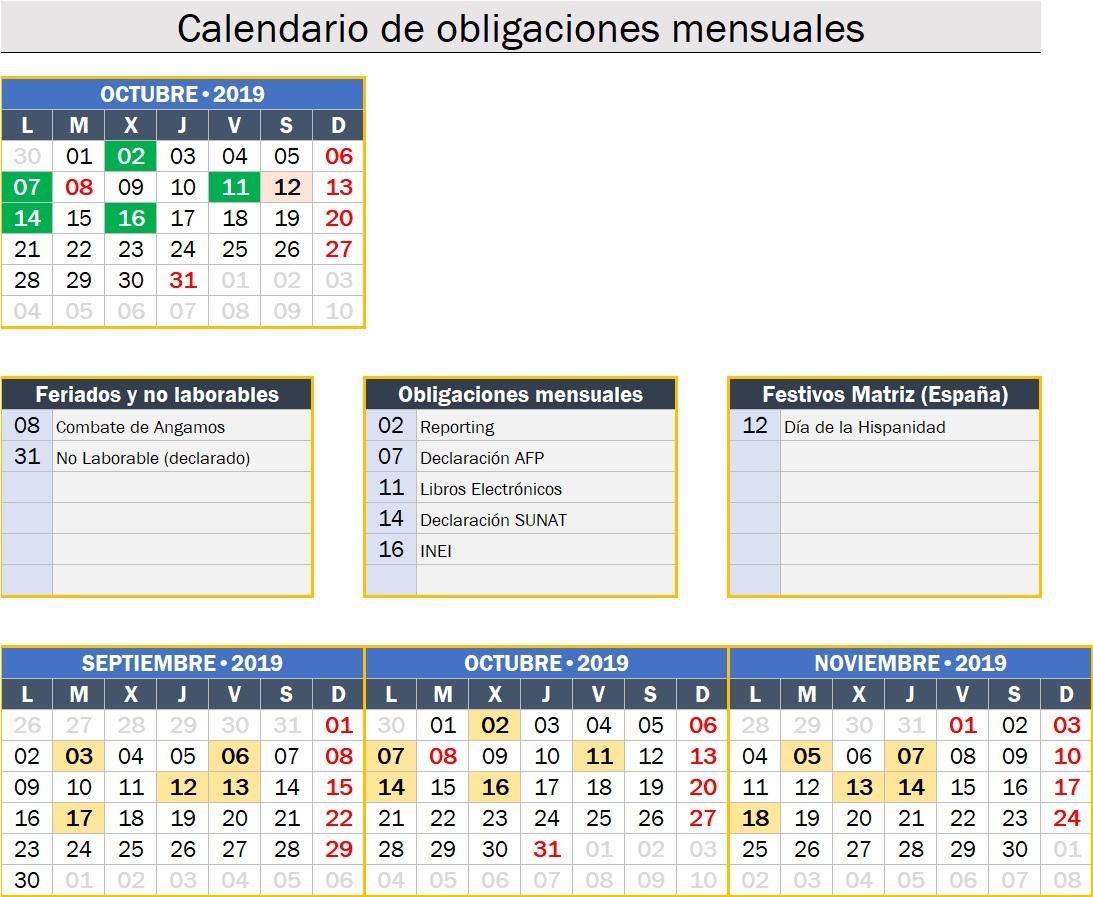 calendario obligaciones