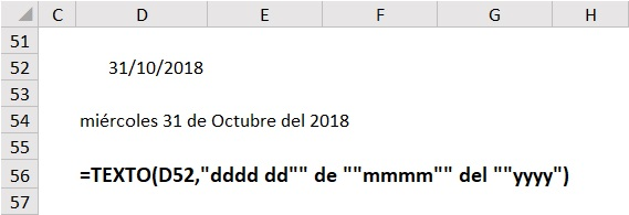 función texto